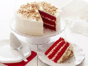 آشنایی با کیک قرمز مخملی
