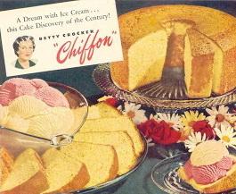 خلاصه ای از تاریخچه ی کیک شیفون