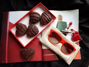 مینی پای شکلاتی