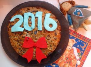کیک میوه سال نو