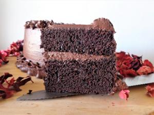 کیک شکلاتی سریع